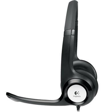 ClearChat Comfort USB Headset H390, profile view