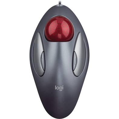 Marble Mouse wired trackball mouse