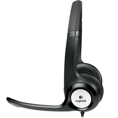 Stereo Headset H390, profile view