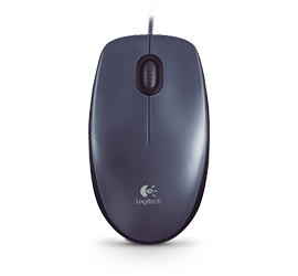 69854c9158d Logitech M100 Optical USB Mouse with Ambidextrous Design