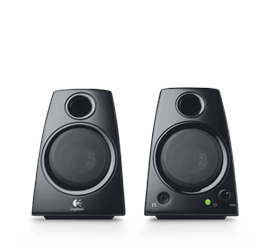 logitech z130 stereo speakers with easy controls deep bass