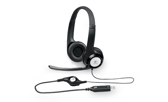headset, boom, and cable