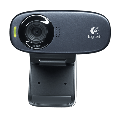 HD Webcam C310, top view