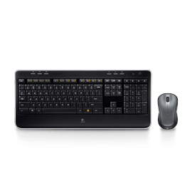 Logitech Mk520 Wireless Keyboard And Mouse Combo With Built In Palm Rest