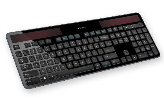 Wireless Solar Keyboard K750 Gallery 1