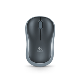 Logitech M185 Grey Wireless Optical Mouse Compact for PC Laptop MAC Linux