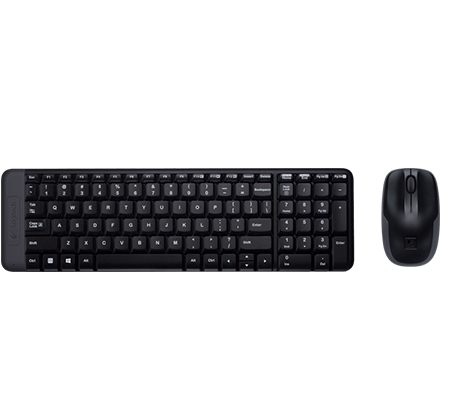 72ad39f9e95 Logitech® Wireless Combo MK220