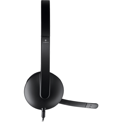 dual headset, front facing
