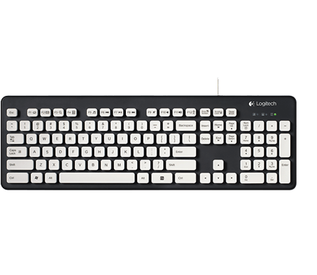 Washable keyboard K310, full view