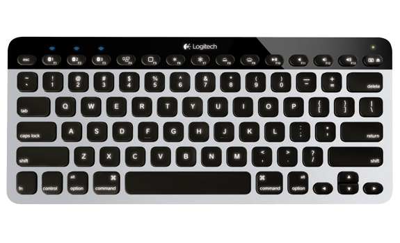 Bluetooth Easy-Switch Keyboard K811 for Mac, iPad and iPhone 1