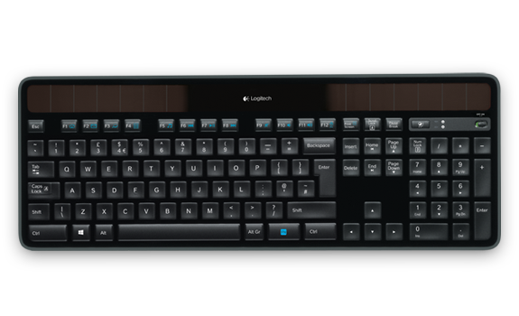 Wireless Solar Keyboard K750 0