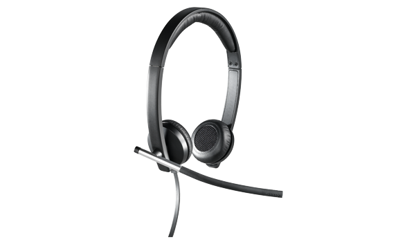 H650e USB headset, facing right