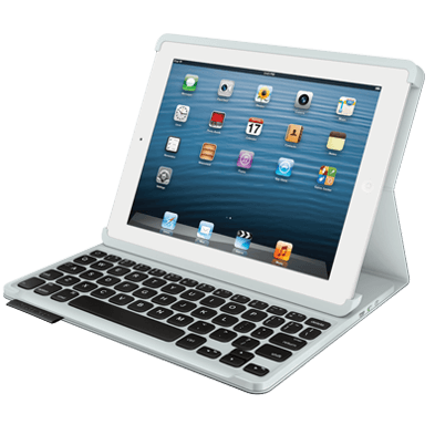 Logitech IPad Keyboard Folio For With Rechargeable Full Size