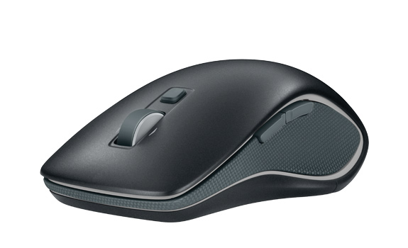 Wireless Mouse M560, front and side view