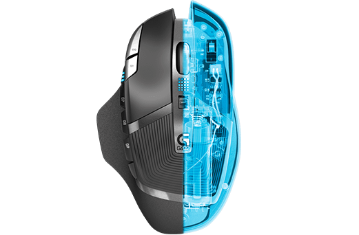 G602 Wireless Gaming Mouse - Logitech