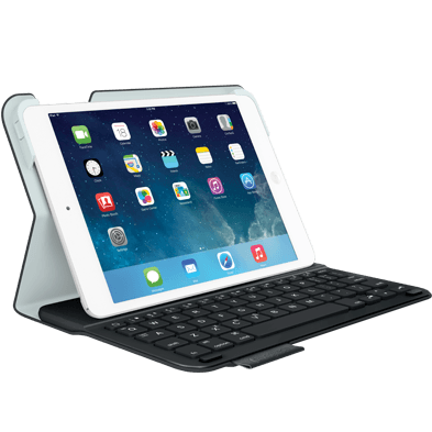 Ultrathin Keyboard Folio For iPad mini, black, full view