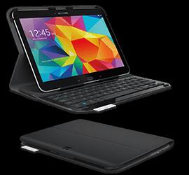 Ultrathin Keyboard Folio For Samsung Galaxy Tab 4 or Samsung