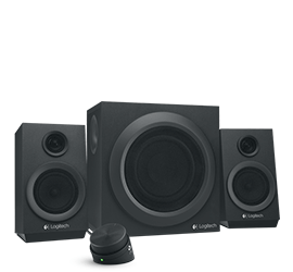Logitech Z333 21 Computer Speaker System With Subwoofer Strong Bass
