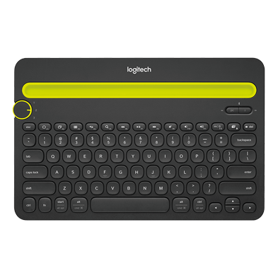 <em>Bluetooth</em> Multi-Device Keyboard K480