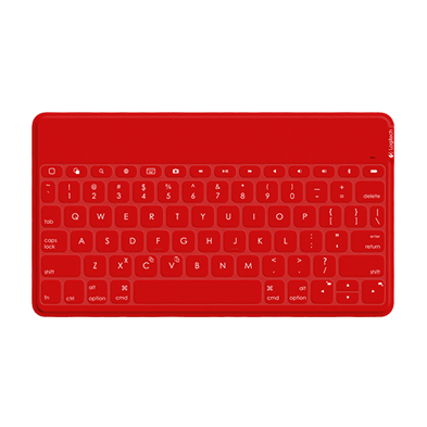 Keys-to-Go iPad keyboard red