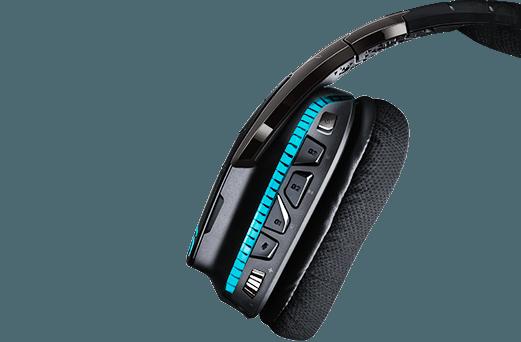 G933 gaming headset G-Key detail