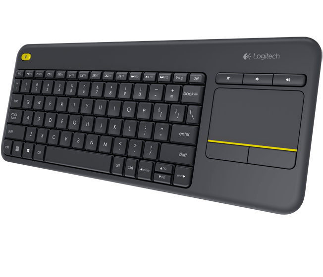Wireless Touch Keyboard K400 Plus 3