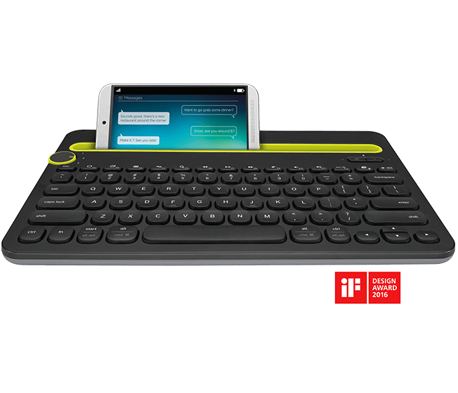Bluetooth Multi-Device Keyboard K4800