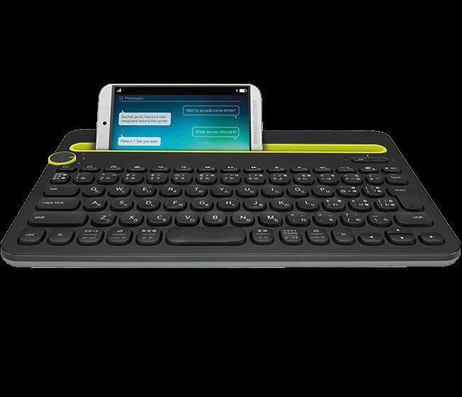 <em>Bluetooth</em> Multi-Device Keyboard K480