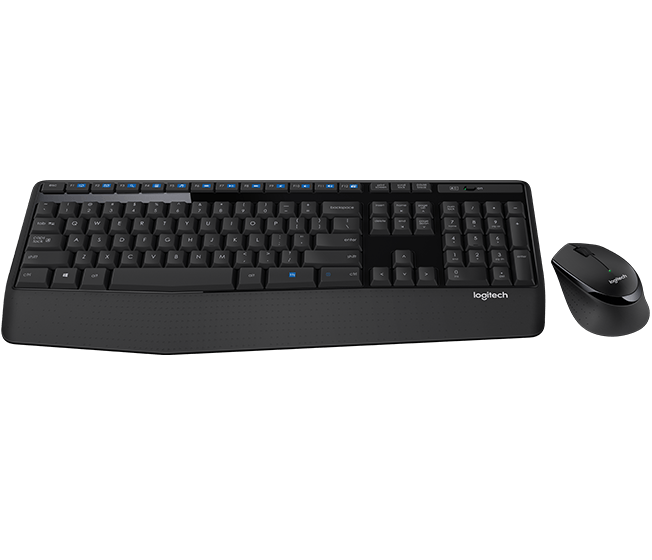 MK345 Comfort Wireless Keyboard and Mouse Combo 0