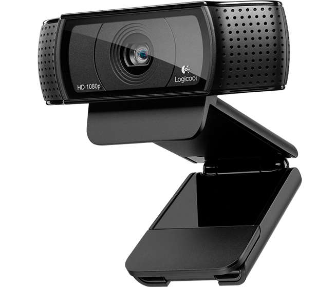 HD Pro Webcam C920 Top shot Logicool