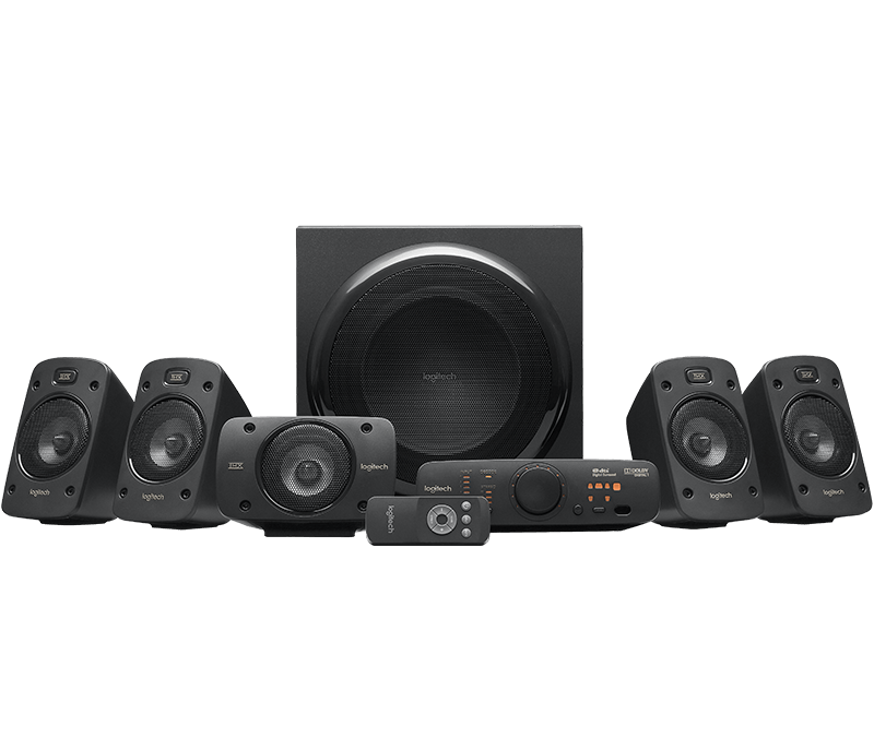 Logitech Z906 Home Theater 5.1 Surround Sound System