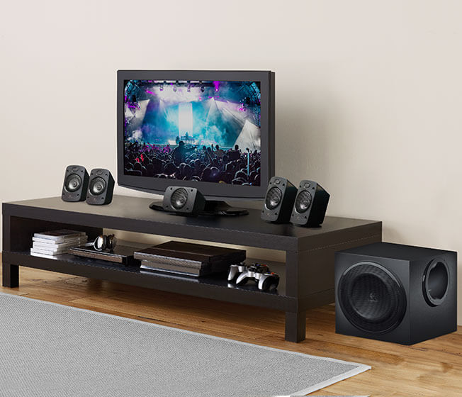 5.1-Surround-Sound-Lautsprechersystem Z9063