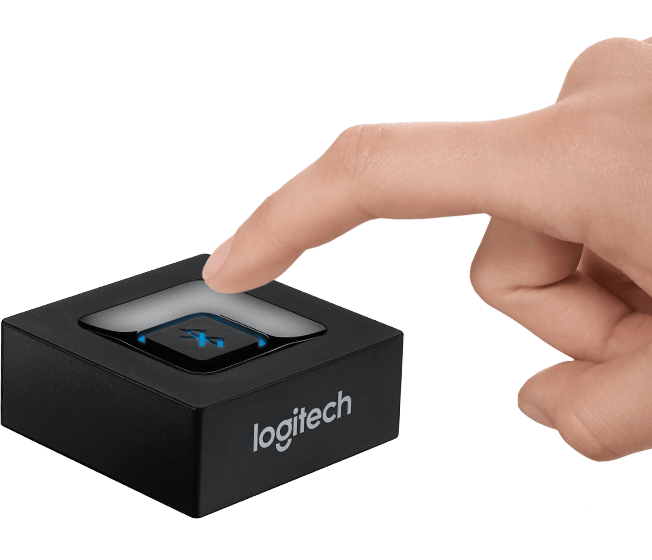 logitech bluetooth audioempf nger f r kabelloses streaming. Black Bedroom Furniture Sets. Home Design Ideas