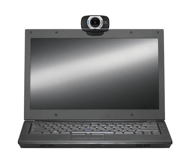 C615 webcam in use
