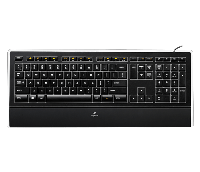 Illuminated Keyboard K740