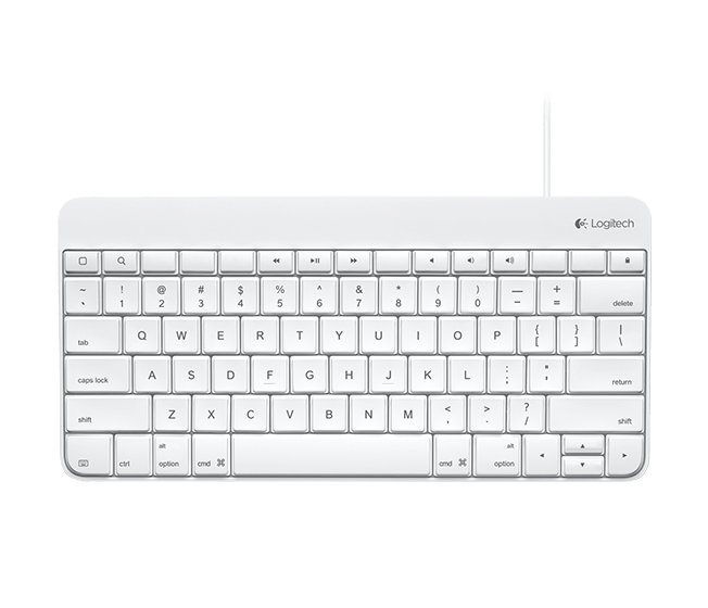 Logitech wired iPad Keyboard