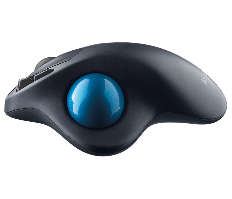 Logitech M570 Wireless Trackball Designed for Comfort & Long Battery-Life