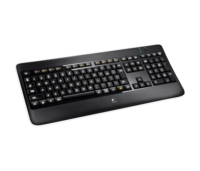 Wireless Illuminated Keyboard K800t