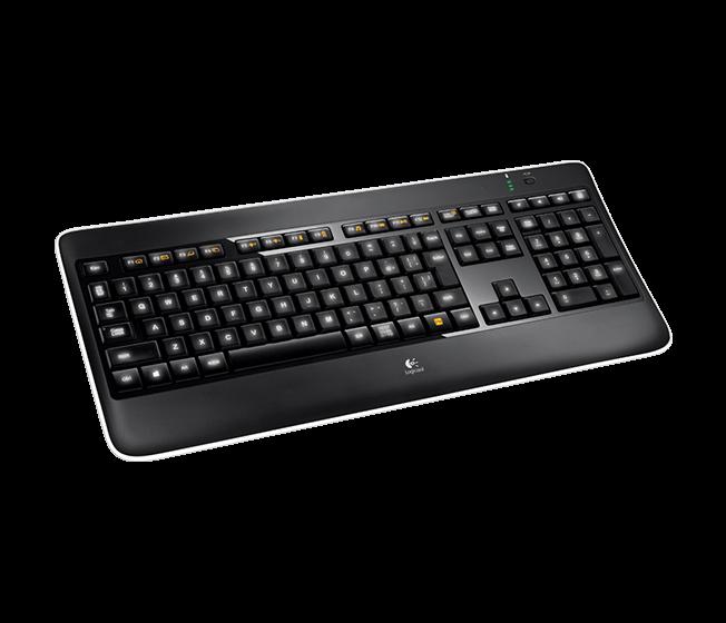 Wireless Illuminated Keyboard K800t 1