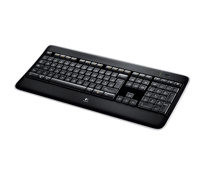 Wireless Illuminated Keyboard K800 1
