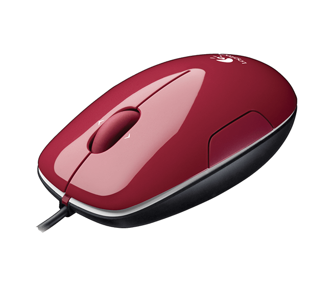 LS1 Laser Mouse red