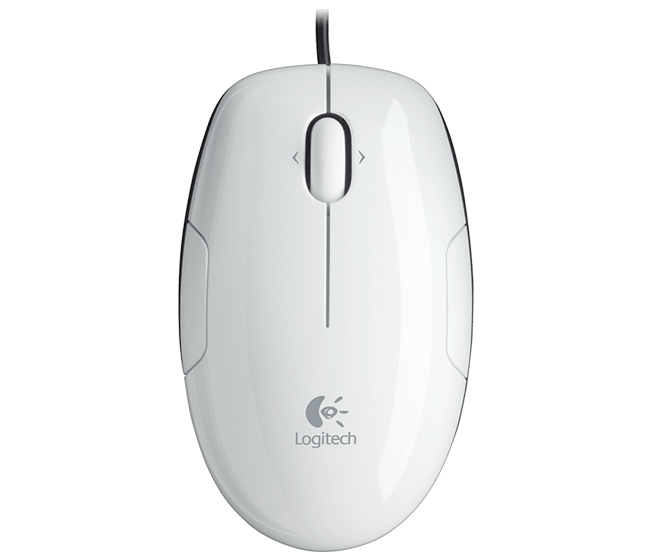 LS1 Laser Mouse white