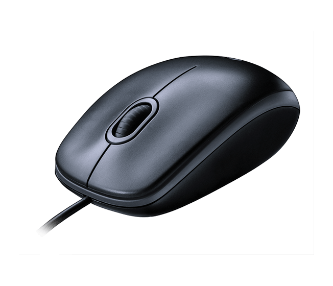Mouse M100 corded black mouse