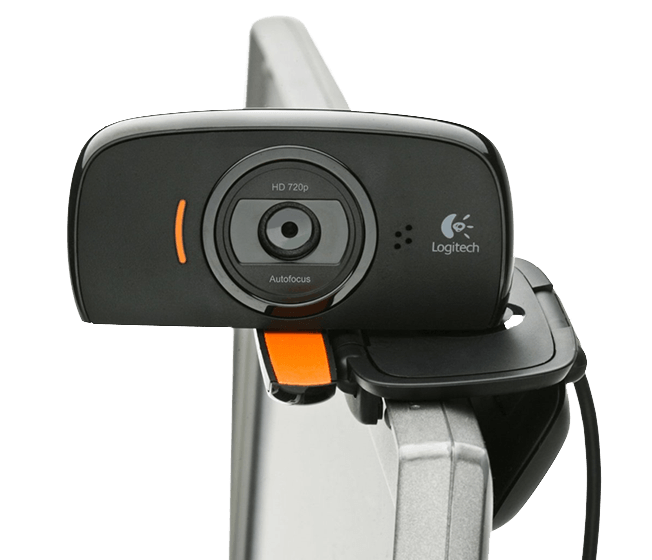 C525 webcam in use