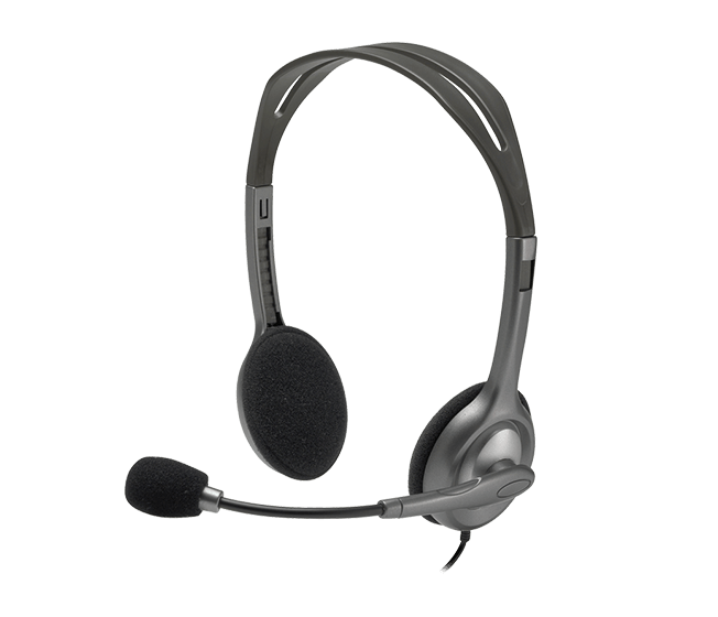 Stereo Headset H110 product angle shot