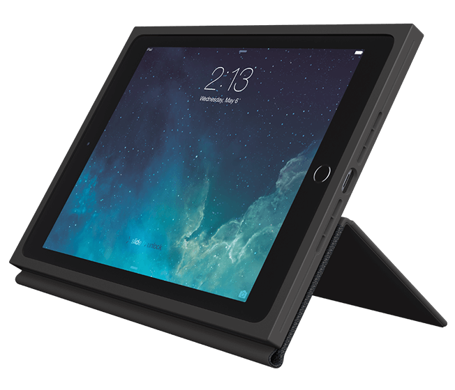 BLOK protective case for iPad Air2, profile view