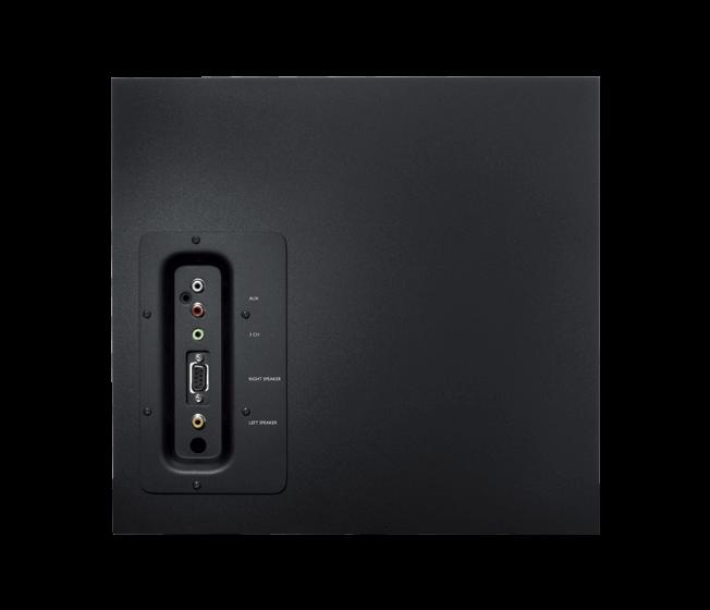 Z623 5.1 Surround Sound subwoofer controls
