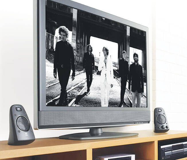 Z623 5.1 Surround Sound system in use