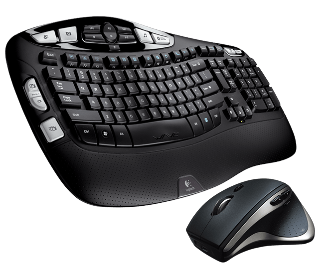 Wireless Keyboard K350 & Performance Mouse MX™ Bundle
