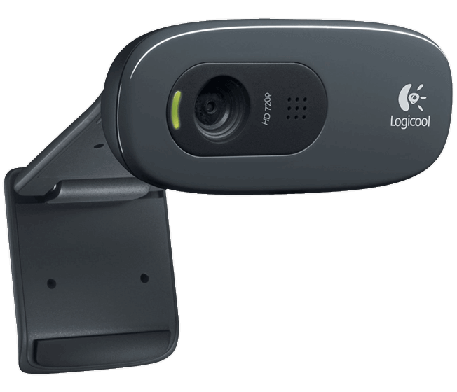 C270h webcam side view